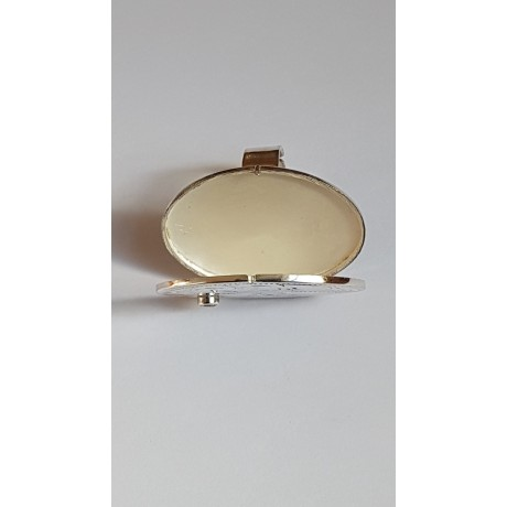 Sterling silver ring Love Capsule , Bijuterii de argint lucrate manual, handmade