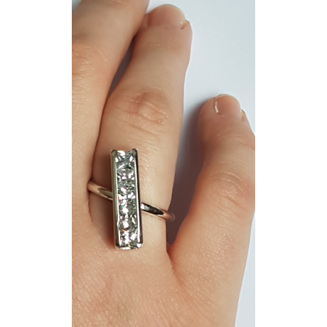 Sterling silver ring Catenae , Bijuterii de argint lucrate manual, handmade