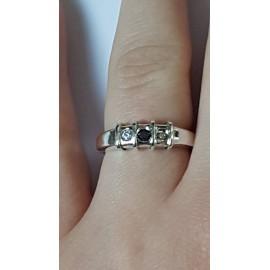 Sterling silver ring Segments