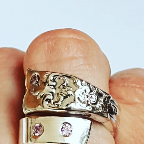 Silver ring In the Feel , Bijuterii de argint lucrate manual, handmade