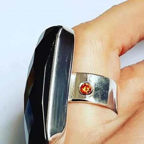 Massive Sterling silver ring Leadership, Bijuterii de argint lucrate manual, handmade