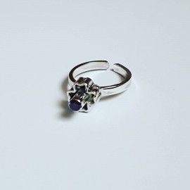 Sterling silver ring Crest