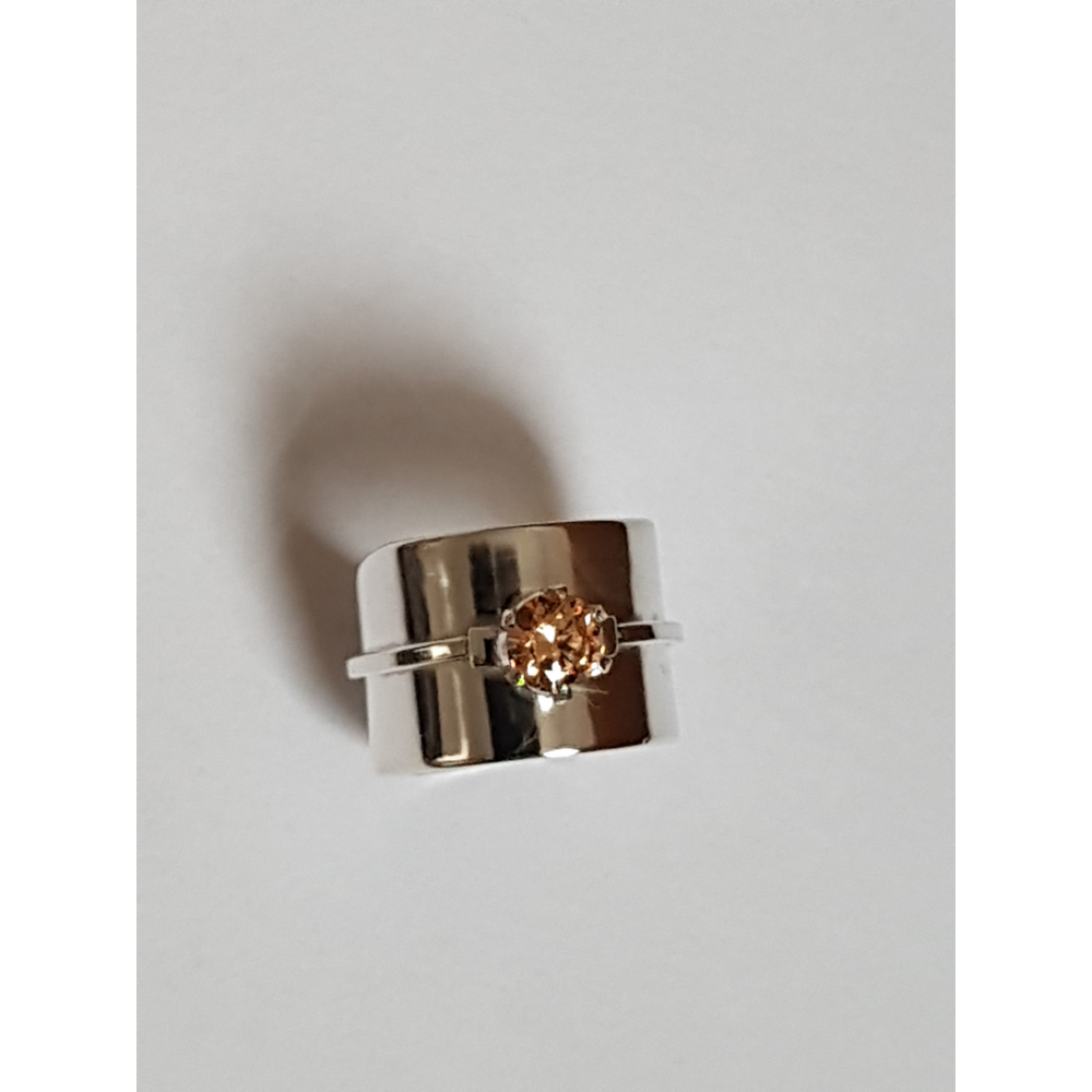Sterling silver ring Fields of Affection