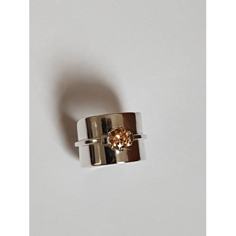 Sterling silver ring Fields of Affection, Bijuterii de argint lucrate manual, handmade