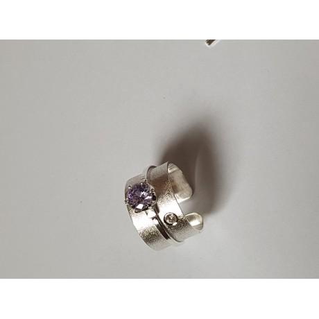 Sterling silver ring Love Affair, Bijuterii de argint lucrate manual, handmade