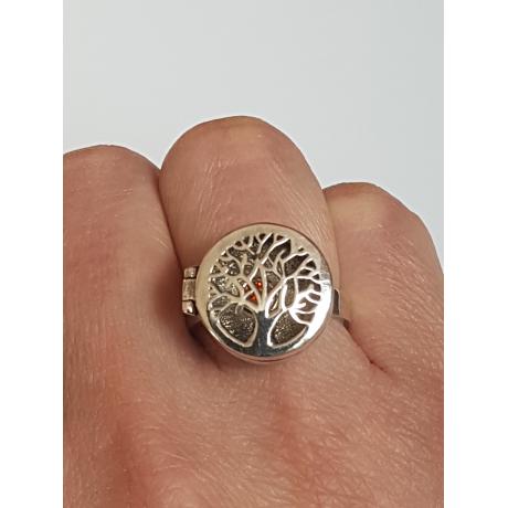 Sterling silver ring Ramify, Bijuterii de argint lucrate manual, handmade