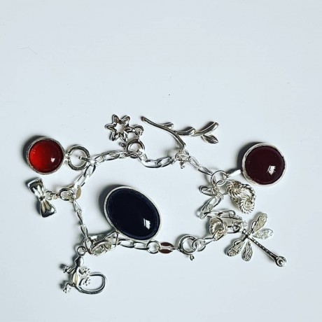 Sterling silver bracelet Freaks, Bijuterii de argint lucrate manual, handmade