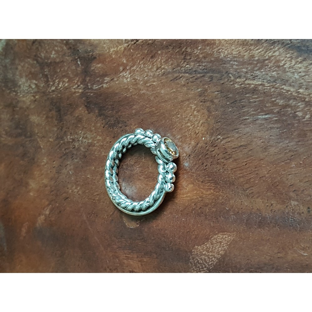 Sterling silver ring Wishes