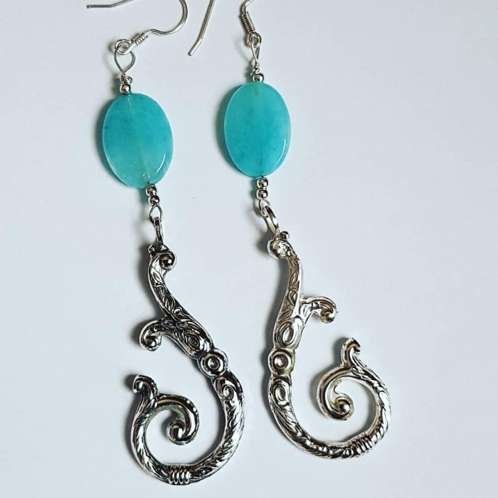 Sterling silver earrings LoveHooks