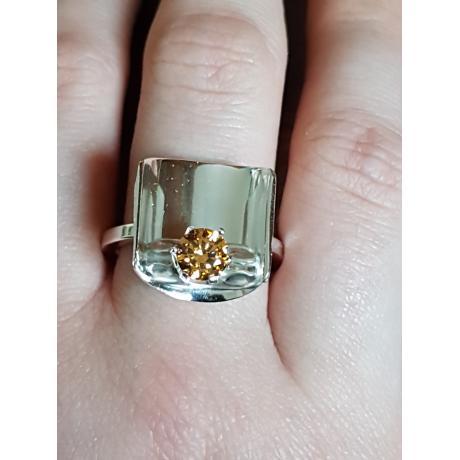 Sterling silver ring Sheltered , Bijuterii de argint lucrate manual, handmade