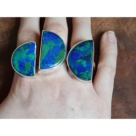 Sterling silver rings Halfies , Bijuterii de argint lucrate manual, handmade