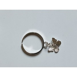 Sterling silver ring Showy