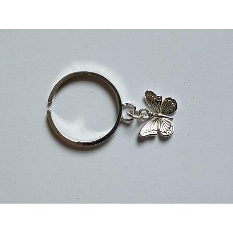 Sterling silver ring Showy , Bijuterii de argint lucrate manual, handmade