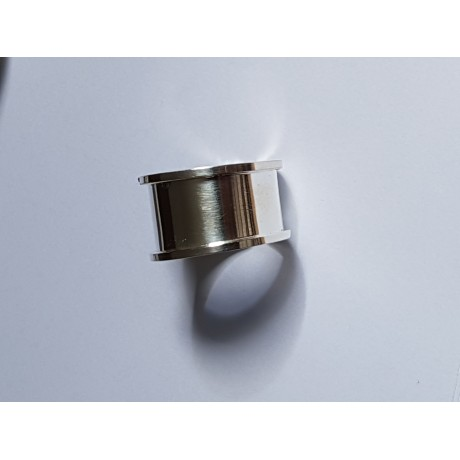 Unisex ring made entirely by hand in Ag925 Dope silver, Bijuterii de argint lucrate manual, handmade