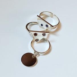 Sterling silver rings different models, Bijuterii de argint lucrate manual, handmade
