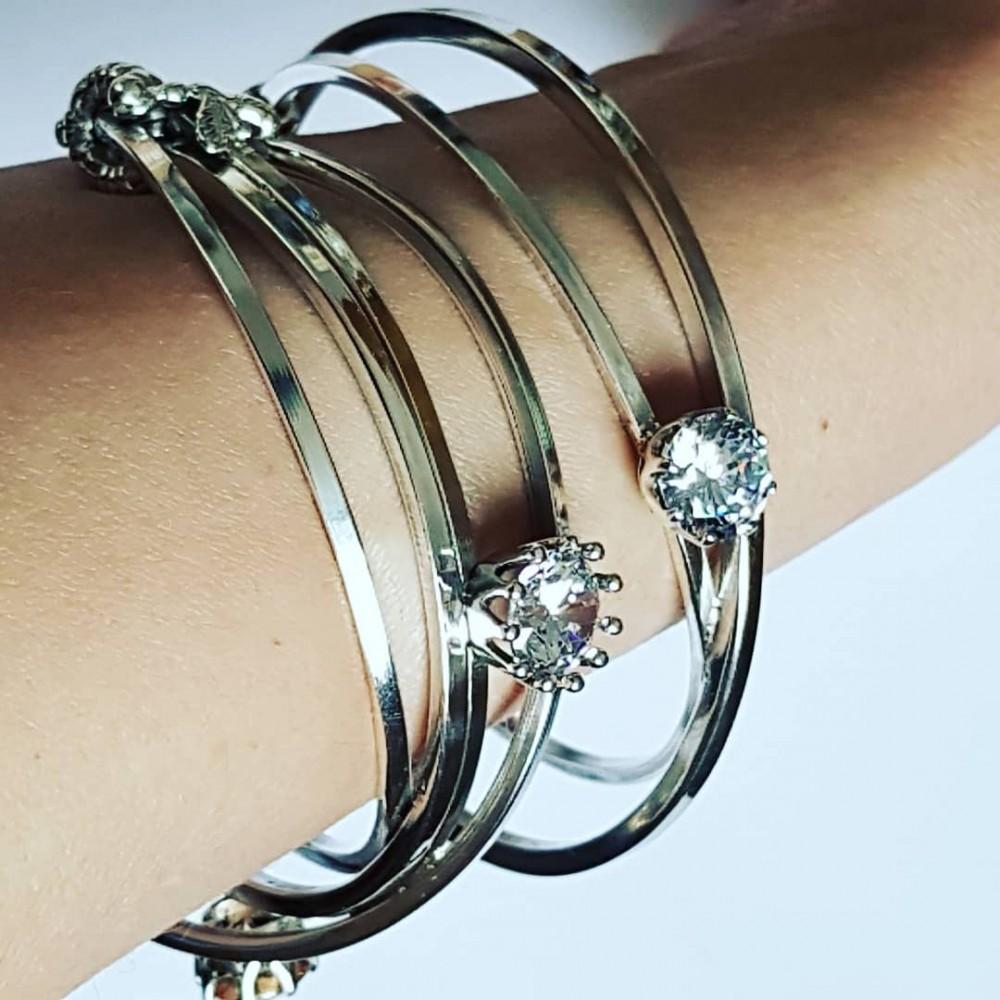 Sterling silver cuff Ludica