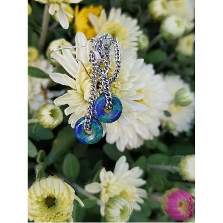 Sterling silver earrings, Bijuterii de argint lucrate manual, handmade