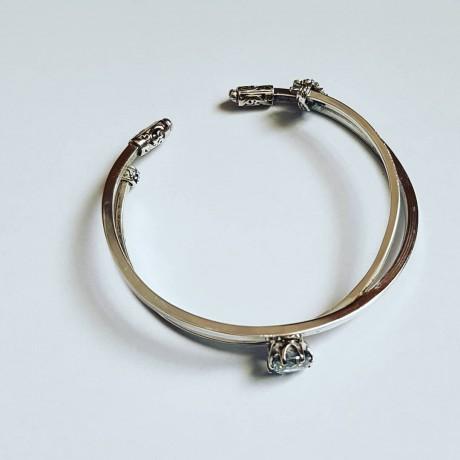 Sterling silver cuff Overdrawn, Bijuterii de argint lucrate manual, handmade