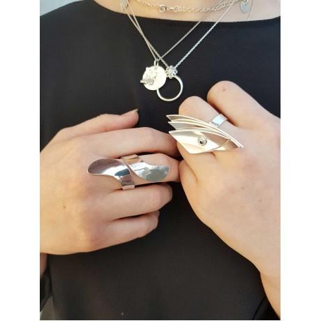 Sterling silver ring 3, Bijuterii de argint lucrate manual, handmade