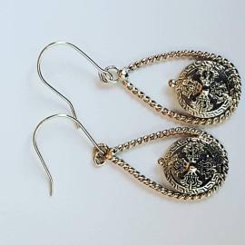 Sterling silver earrings Swaying Darlings
