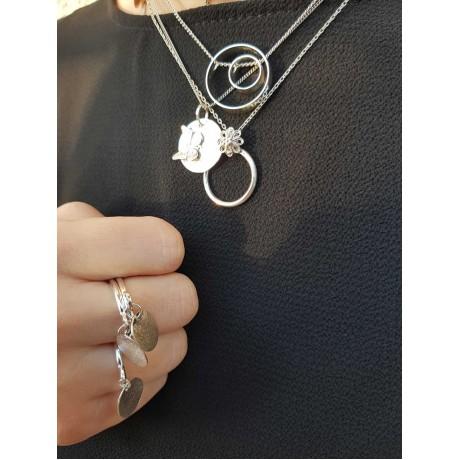 Sterling silver necklace brand, Bijuterii de argint lucrate manual, handmade