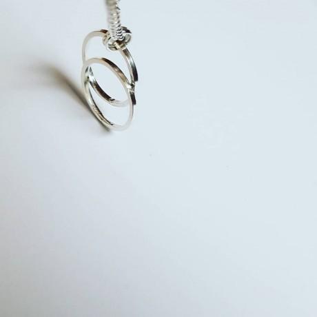 Sterling silver necklace with manual craftsmanship, Bijuterii de argint lucrate manual, handmade
