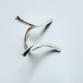 Sterling silver ring Longing