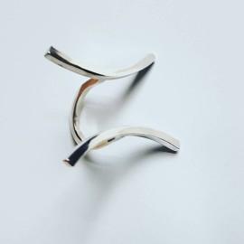 Sterling silver ring Longing, Bijuterii de argint lucrate manual, handmade