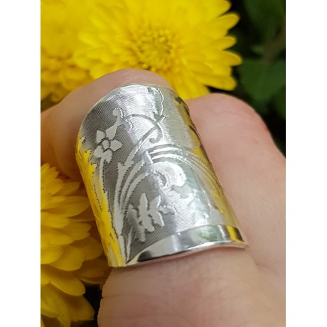 Sterling silver ring, Bijuterii de argint lucrate manual, handmade