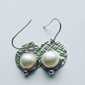 Sterling silver Earrings PearlSpot