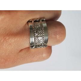 Sterling silver ring masiv