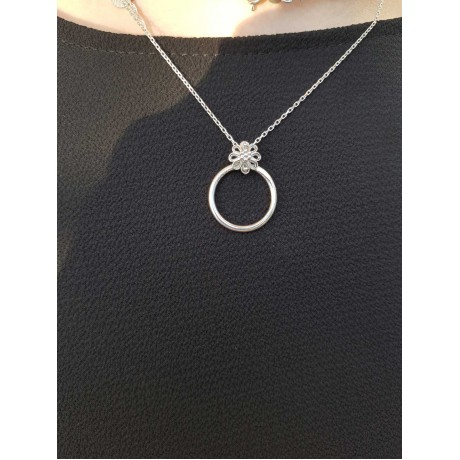 Sterling silver necklace 2, Bijuterii de argint lucrate manual, handmade