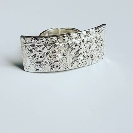 Handmade ring made entirely of Ag925 solid silver Map to Love