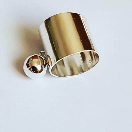 Handmade ring made of Ag925 Ringish silver, Bijuterii de argint lucrate manual, handmade