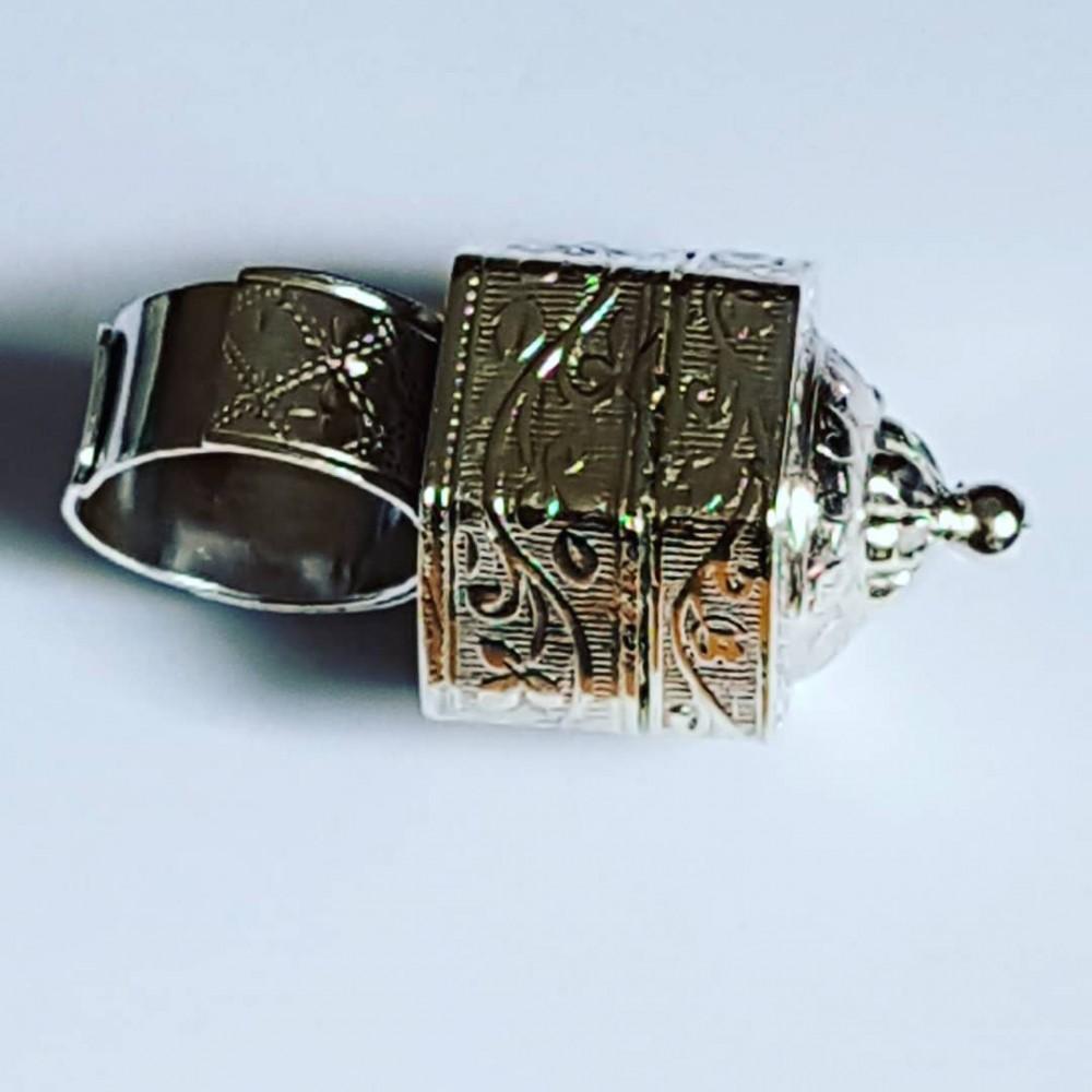 FetishAbode solid handmade Ag925 silver handmade ring
