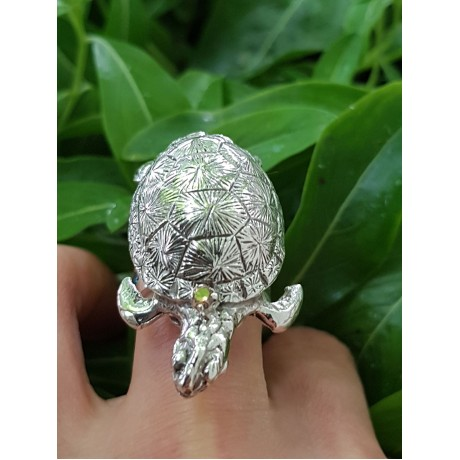 Sterling silver ring with SwimmingHabits, Bijuterii de argint lucrate manual, handmade