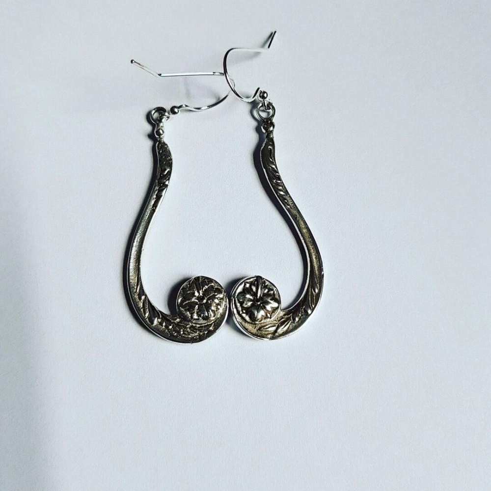 Sterling silver earrings SweetChandeliers