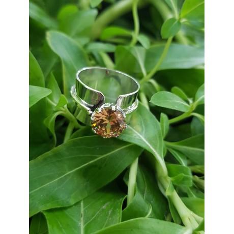 Sterling silver ring LoveFlames, Bijuterii de argint lucrate manual, handmade