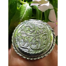 Sterling silver ring Circularity Triumph