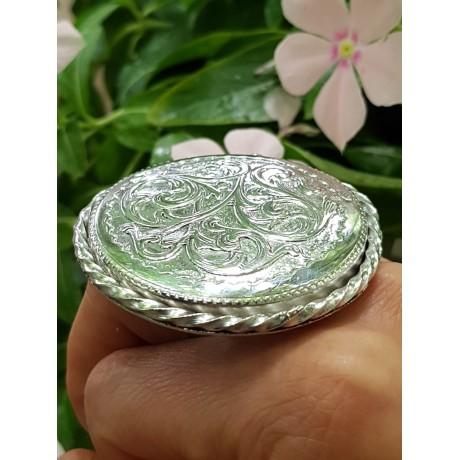Sterling silver ring Circularity Triumph, Bijuterii de argint lucrate manual, handmade