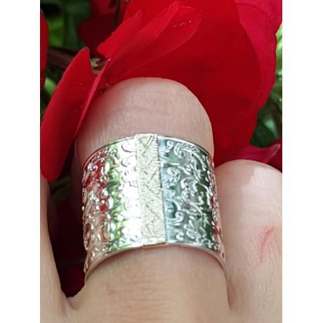 Sterling silver and gold ring LavishLushLull, Bijuterii de argint lucrate manual, handmade
