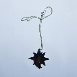 Sterling silver pendant, Bijuterii de argint lucrate manual, handmade