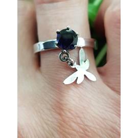 Sterling silver engagement ring GotmeFlying