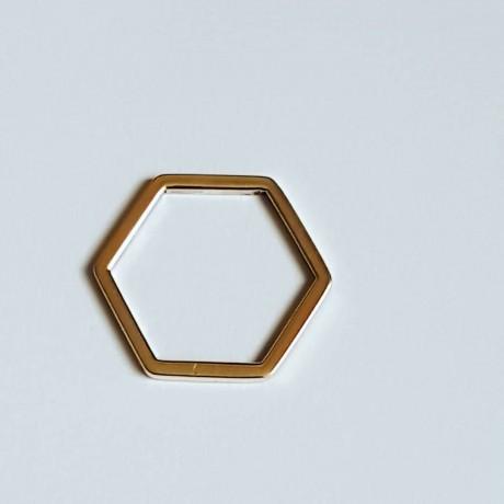 14k gold engagement ring ShapeofLove MDW 35a, Bijuterii de argint lucrate manual, handmade