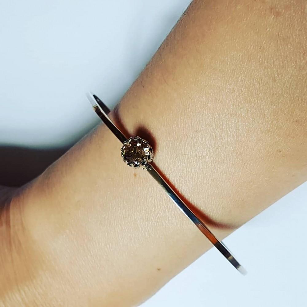 Sterling silver bracelet GoOval