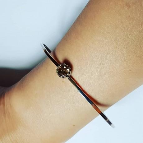 Sterling silver bracelet GoOval, Bijuterii de argint lucrate manual, handmade