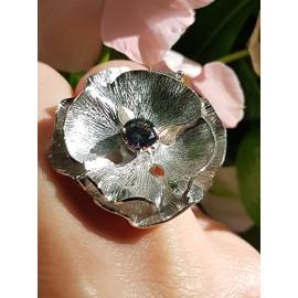 Sterling silver ring Summer Flirting