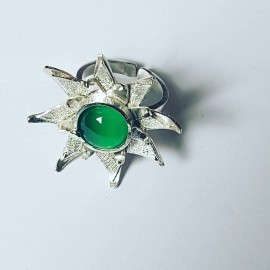 Sterling silver ring Stella