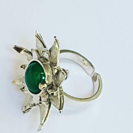 Sterling silver ring Stella, Bijuterii de argint lucrate manual, handmade