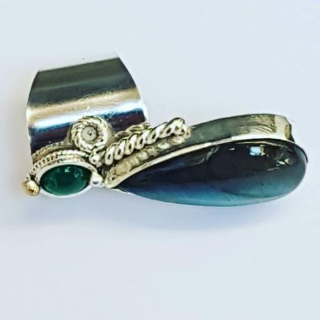 Massive Sterling silver ring with natural lapislazuli Butterflowers, Bijuterii de argint lucrate manual, handmade